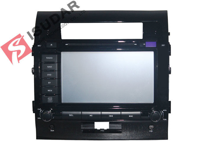5 Inch Display Screen Toyota DVD GPS Navigation Toyota Land Cruiser Dvd Player Wince System